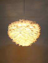 Lampe suspendue ,  Rétro Chrome Fonctionnalité for Style mini Métal Salle de séjour Intérieur Couloir 1 Ampoule