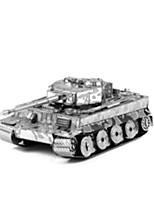 Puzzles Puzzles 3D Blocs de Construction Jouets DIY  Tank Acier inoxydable Maquette & Jeu de Construction