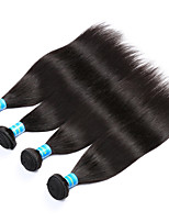 Vinsteen Peruvian Straight Human Hair 4Pcs/Lot Natural Human Hair Weft Double Weft Human Hair Weaves Black Color Hair Extensions