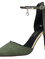 Da donna Tacchi Cashmere Estate Footing Traforato A stiletto Nero Beige Verde Rosa 7,5 - 9,5 cm