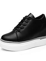 Da donna Sneakers Comoda Sintetico Primavera Casual Comoda Bianco Nero Piatto