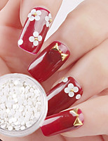 2g White Roundness Paillette Nail Art Decorations