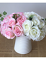 1  Bunch Roses In Hand Artificial Flowers