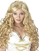 Long Wavy Synthetic Hair Wigs  Deep Curl Women Wigs Heat Resistant Synthetic Cosplay Party Wig