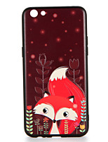 For OPPO R9s  R9s Plus Case Cover Pattern Back Cover Case Leaves Animal Cartoon Fox Hard PC R9 R9 Plus