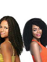 Popular In USA Crochet braids synthetic Jerry Curl Pre-loop Crochet Braids Natural Black Hair Braids 14Inch Kanekalon 5 Package For Full Head