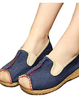 Men's Sneakers Comfort Customized Materials Spring Casual Beige Blue Flat
