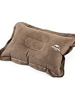 1pc Travel Pillow Camping Pillow forOrange Brown Blue