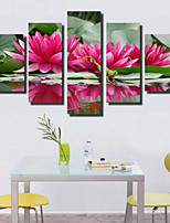 Art Print Pastoral,Five Panels Horizontal Print Wall Decor For Home Decoration
