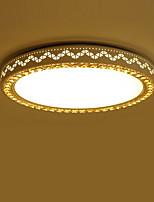 Montage de Flujo ,  Moderno / Contemporáneo Pintura Característica for LED Metal Sala de estar Dormitorio Comedor Cocina