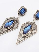 Ohrstecker Tropfen-Ohrringe Kreolen Imitation DiamantBasis Einzigartiges Design Logo Stil Strass Freundschaft Zum Selbermachen Bikini