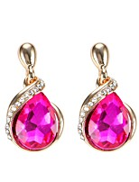 Women's Drop Earrings Crystal Dangling Style Bohemian Alloy Jewelry Jewelry For Party Daily Casual Stage 1 pair