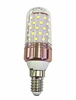 E14 9W LED Corn Lights 60 SMD 2835 600-680 lm Warm White /White  220V