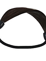 2 Pieces Hair Tie Plastic Hair Ponytail Hair Tools Natural Black