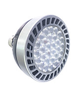 1pcs E27 30W LED PAR30 Lights  Power Lights 1500-1700 lm Warm White /White  220V