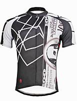 Camisa para Ciclismo Homens Masculino Manga Curta Moto Camisa/Roupas Para Esporte BlusasCiclismo Secagem Rápida Resistente Raios