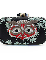 L.WEST Woman Fashion Luxury High-grade Embroidery Evening Bag
