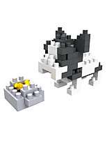 DIY KIT Building Blocks For Gift  Building Blocks Leisure Hobby Dog Plastic 8 to 13 Years 14 Years & Up Toys