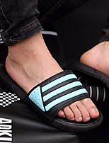 Herren Slippers & Flip-Flops Komfort PU Sommer Normal Komfort Weiß Gelb Rot Grün Blau Flach