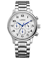 Men's Fashion Watch Quartz Automatic self-winding Water Resistant / Water Proof Alloy Band Silver Brown