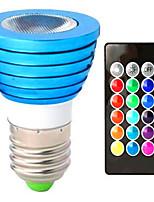 3W Encastrée Moderne 1 LED Haute Puissance 150 lm RVB V 1 pièce