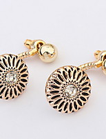 Drop Earrings Women's And Girls' Euramerican Joker Sunflower Earrings Daily And Business Stud Earrings Movie Jewelry Gift