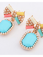 Euramerican Multicolor Sweet Adorable  Bowknot Women's Party Earrings Movie Jewelry