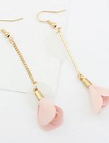 Boucles d'oreille goujon Boucles d'oreille goutte Boucles d'oreille gitane BijouxBasique Original Logo A Fleurs Pendant Amitié