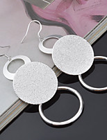 Women's Drop Earrings  Vintage Elegant Fine Silver Plated Jewelry For Wedding Party Anniversary Birthday Daily
