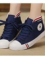 Da donna Sneakers Di corda Primavera Bianco Nero Blu Piatto