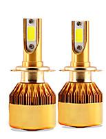 2017 nouveau kit de phare hd de 2 pcs 30w 3000lm jumelage solaire Lonowo super lumineux 6000k projecteur blanc