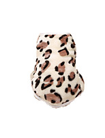 Dog Shirt / T-Shirt Dog Clothes Casual/Daily Hearts Leopard Blushing Pink