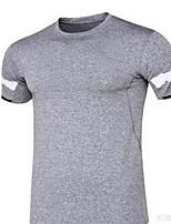 Herrn Kurze Ärmel Laufen T-shirt Atmungsaktiv Sommer Sportbekleidung Laufen Polyester Lose