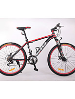 Mountain Bike Cycling 21 Speed 26 Inch/700CC BB8 Double Disc Brake Suspension Fork Aluminium Alloy Frame Hard-tail Frame Anti-slip