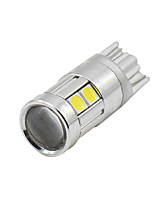 4X T10 2017 NEW  White 9 3030 LED Car Auto Wedge Lights Parking Bulb Lamp 12V-24V