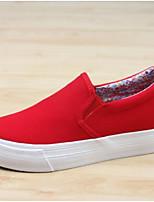 Da donna Sneakers Comoda Di corda Primavera Casual Comoda Bianco Nero Rosso Piatto
