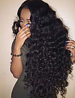 Hot Sale Big Curly Full Lace Human Hair Wigs with Baby Hair 150% density Glueless Full Lace Wigs Brazilian Virgin Hair Wigs for Black Woman
