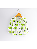 Fashion Geometic Novelty Blouse,Cotton Blend Summer Spring Fall Long Sleeve Regular