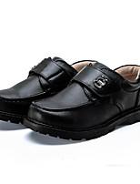 Da uomo Sneakers Comoda Finta pelle Primavera Casual Nero Piatto