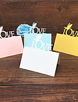 40pcs Love And Butterfly Laser Cut Wedding Party Table Name Place Cards Guest Place Cards Favors Wedding Decoration