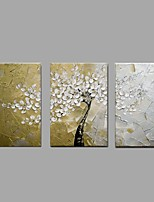 Hand Painted Oil Painting Knife Flower Tree Wall Art Home Office Decor with Stretched Framed Ready to Hang