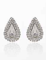 New-style Luxury Shining Water Drop Earrings