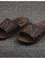 Men's Slippers & Flip-Flops Comfort PP (Polypropylene) Spring Casual Comfort Blue Green Brown Flat