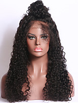Full Lace Wigs For Black Women human hair Natural color Curly Braizllin hair 150% Density