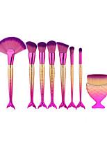 8pcs Sistemas de cepillo Pelo Sintético