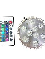 9W LED Par Lights 9w  High Power LED 450 lm with RGB Controller AC 85V-240V