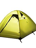 2 человека Световой тент Один экземляр Автоматический тент Однокомнатная Палатка 2000-3000 мм Влагонепроницаемый Водонепроницаемый-Походы