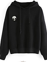 Men's Casual/Daily Hoodie 3D Print Round Neck Micro-elastic Cotton Long Sleeve Spring Fall