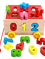 Building Blocks Pegged Puzzles For Gift  Building Blocks Novelty & Gag Toys Wood 2 to 4 Years 5 to 7 Years Toys