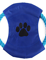 Cat Toy Dog Toy Pet Toys Flying Disc Cute Portable Adjustable Fabric